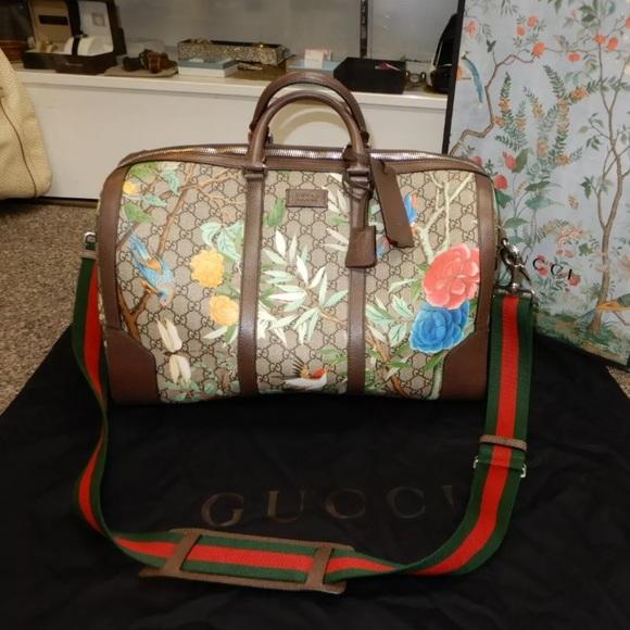 Gucci Handbags - Gucci Tian Bloom Duffel NWOT